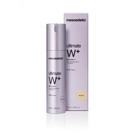 Krem BB Mesoestetic Ultimate W+ Whitening BB cream MEDIUM filtr UV SPF50