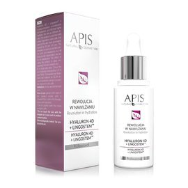 Kwas hialuronowy Apis Professional HYALURON 4D + LINGOSTEM™ 30ml