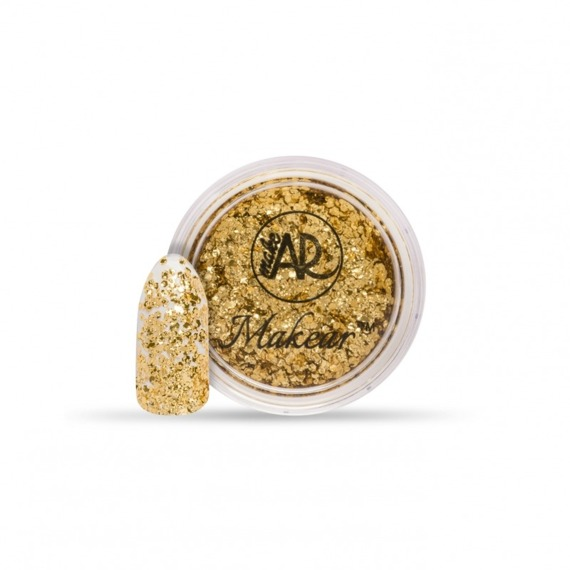 Pyłek CD02 Gold Flake Makear Crushed Diamond Series